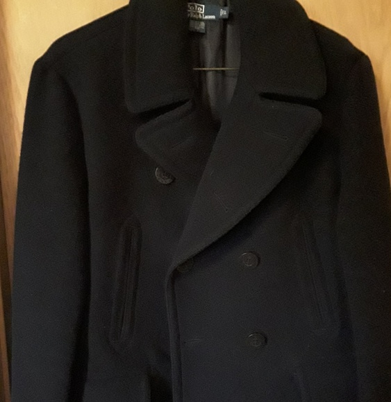 polo ralph lauren medium fit ralph lauren mens pea coat